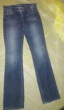 Guess Jeans Junior's Carla Boot Cut Stretch Size 28 Denim Blue
