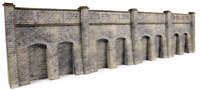 Metcalfe PN144 N Gauge Retaining Wall - Stone Card Kit