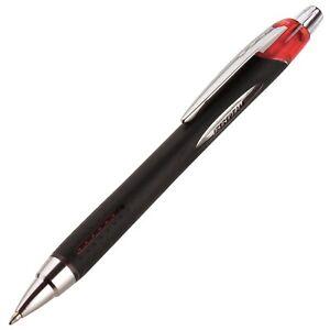 73834 Uni-Ball Jetstream RT Ballpoint Pen, Red Ink, Bold Tip 1.0mm, Pack of 2
