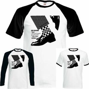 Mens The Specials 2 Tone T-Shirt Ska Dance Craze 2Tone Selecter Madness Beat Top