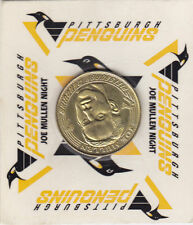 JOE MULLEN PITTSBURGH PENGUINS COIN GIVEAWAY JOE MULLEN NIGHT MARCH 1998 RARE