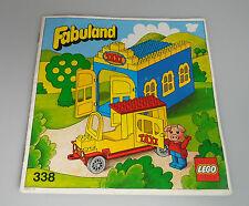 LEGO® Fabuland - Bauanleitung - Für Set 338 Taxi Garage Anleitung BA 1979
