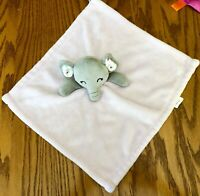 Forever Baby Gray Elephant Lovey Security Blanket (pink) plush