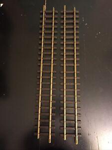 """Set of 2 LGB Straight Model Railroad Track 24"""" (300mm) #10000"""