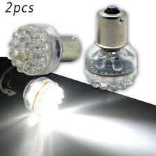 2pcs 6V 24LED 1156 White Car Turn Signal Light Bulb Brake/Tail/Revese Side Lamps