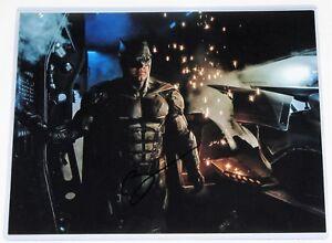 """BEN AFFLECK SIGNED """"BATMAN"""" SIGNED 11 x 14   AFTAL APPROVED DEALER #199"""