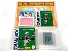 Mystic Quest in OVP Box CIB inkl. Anl. Karte - Nintendo GameBoy deutsch