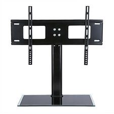 Universal Table Top Pedestal TV Stand With Bracket LCD LED Swivel Height Adjust D800 37 55inch