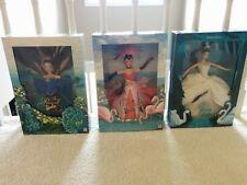Mattel Barbie Birds of Beauty Collection - The Swan The Peacock The Flamingo
