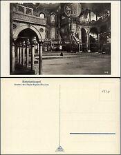 CONSTANTINOPLE KONSTANTINOPEL ISTANBUL - Inneres der Hagia-Sophia-Moschee - 1930