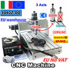 【IT】 Desktop 3 Axis CNC 3040Z-DQ 500W Spindle USB Engraving Milling Machine 220V