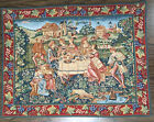 GOBLEY TAPESTRY Pastoral Meal - Made In France