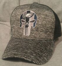 Philadelphia Eagles Punisher Hat  Melange Black Mesh  Philadelphia's Eagles Hat