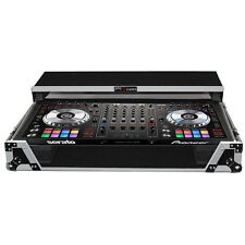 ProX Fitted Case for Pioneer DDJ-SZ DDJ-SZ2 DDJ-RZ Silver Black w/ Laptop Glide