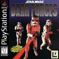 Star Wars Dark Forces Playstation Game PS1 Used Complete