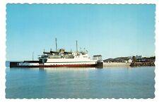 Traversier TRANS-ST-LAURENT au Quai de Rivière-du-Loup Quebec Canada Postcard