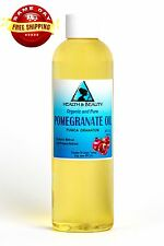 POMEGRANATE SEED OIL REFINED ORGANIC COLD PRESSED NATURAL FRESH 100% PURE 4 OZ