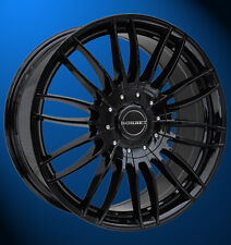 4x NEUE Borbet CW3 7.5 X 18 Zoll Alufelgen LK 6 X 130 ET 50 black glossy