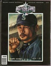 ICHIRO SUZUKI AUTOGRAPH SIGNED RC 2001 OFFICIAL ALL STAR GAME PROGRAM MARINERS
