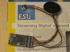 ESU 54400 H0 LokSound V4 DCC/MOT Kabel+8pol.St.+Lautspr.+ Wunschsound NEU & OVP