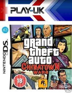 Grand Theft Auto: Chinatown Wars (Nintendo DS, 2009) - gta