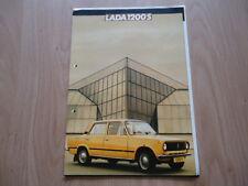 LADA 1200S BROCHURE / PROSPEKT (P)
