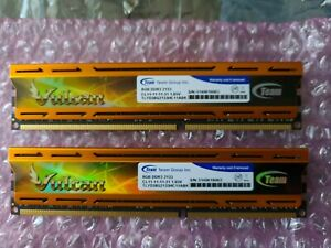 Team Vulcan 16gb (2x8gb) DDR3 2133 memory With Heat Sink - Perfect Condition