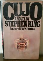 Cujo, Stephen King, 1981, Viking 1st Edition, Hardcover with Dust jacket