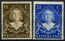 Netherlands 1948 SG#672-3 Coronation Used Set #D71557