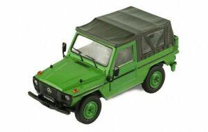IXO MODELS CLC286 Mercedes-Benz 240 G Wagon LHD SWB Soft Top Vert 1986 1/43