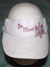 Disney - Be Mine - Visor - Kitty Cat - White & Pink