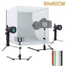 60cm Large Mini Photography Tent SoftBox Light Cube PhotoStudio Lighting Kit UK