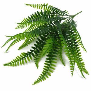Künstliche Farn Pflanzen Plastik Kunstpflanzen für Home Hochzeit Dekor Dekotopf
