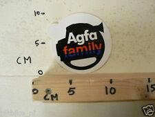 STICKER,DECAL AGFA FAMILY FOTO CAMERA ?