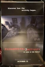 PARANORMAL ACTIVITY 3 (2011) DS One Sheet