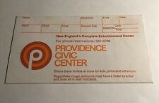 Elvis Concert Ticket Stub Envelope - Rare Providence Civic Center 1974