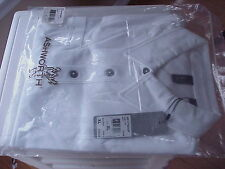 New ASHWORTH Golf S/S Polo Shirt XL White