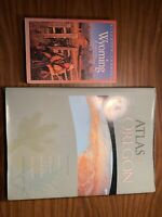 Compass Guide to Wyoming by Burt, Nathaniel Paperback & Atlas Of Oregon, Loy