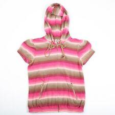 Vintage JUICY COUTURE Towel Velour Hooded Jacket | Womens S | Sweatshirt Hoodie