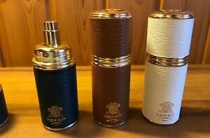 CREED LEATHER EMPTY ATOMIZERS 3 PCS