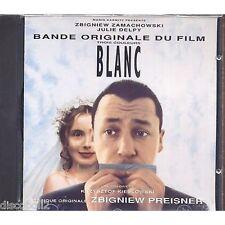 ZBIGNIEW PREISNER - Trois couleurs - Blanc - CD OST 1994 NEAR MINT CONDITION