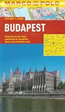Marco Polo Budapest City Map (Hungary) *FREE SHIPPING - NEW*