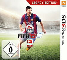 FIFA 15 -- Legacy Edition (Nintendo 3DS, 2014, Keep Case)