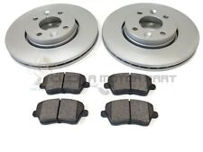 RENAULT CLIO MK3 1.2 1.4 1.5 DCi 2005-2012 FRONT 2 BRAKE DISCS AND PADS SET NEW