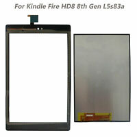 """8"""" LCD Display Touch Screen Digitizer For Amazon Kindle Fire HD8 8th Gen L5S83A"""