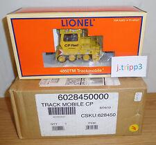 LIONEL 6-28450 CP RAIL CANADIAN PACIFIC TRACKMOBILE TMCC O SCALE TRAIN MOTORIZED