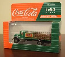 Vintage Vehicles Coca-Cola Die-Cast Metal Mack Stake Delivery Truck NIB-L@@K!