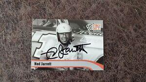 1992 Pro Set Ned Jarrett #L3 - NASCAR - Autographed!
