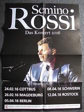 Konzertposter-Semino Rossi Das Konzert 2016-Berlin 05.04.2016-Konzertplakat