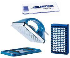 HOLMENKOL Set Smart Waxer, Bürste und Ziehklinge 3-teilig